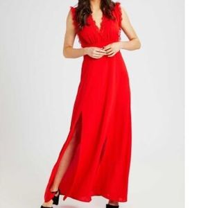 Alter'd State red Valetta maxi dress